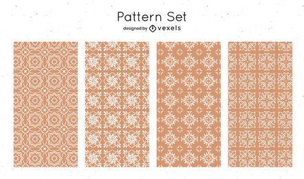 Desenho de padrões de formas geométricas