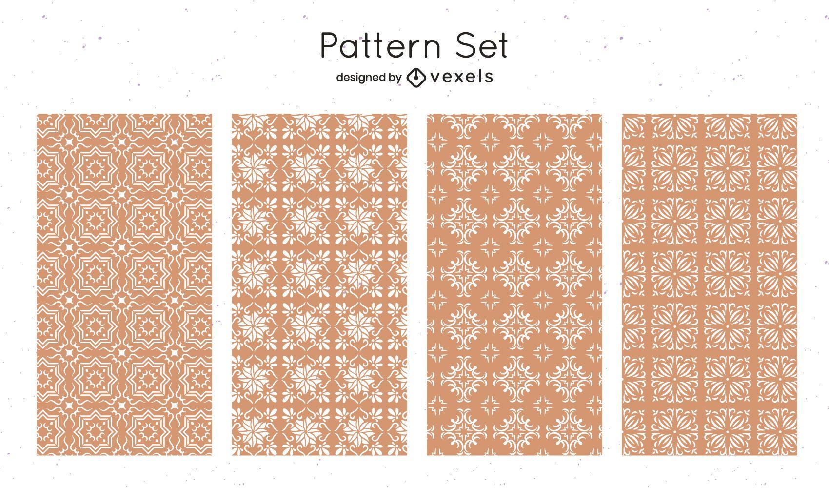 Geometric shapes pattern design