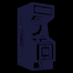 Ilustração de gabinete de fliperama