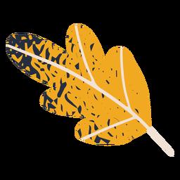 Ilustração da folha de outono