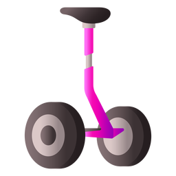 Balance scooter realistic design