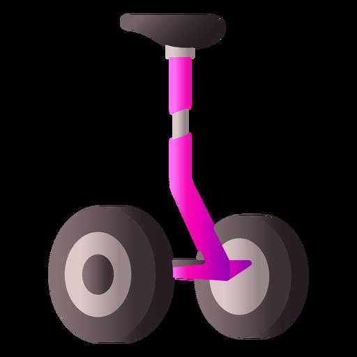 Balance scooter diseño realista Transparent PNG
