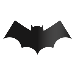 Bat icon halloween design