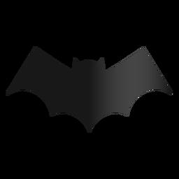 Icono de murciélago diseño de halloween