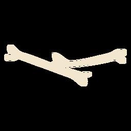 Esqueleto de ilustración de huesos