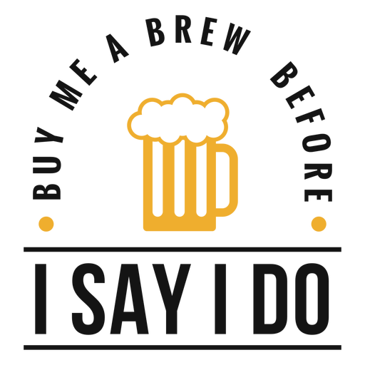 Cómprame una cerveza con letras