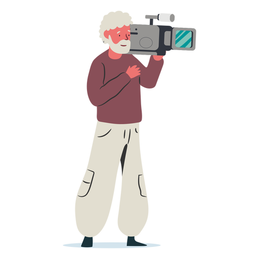 Ilustração do personagem Cameraman