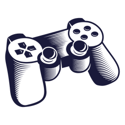 Classic controller gaming illustration