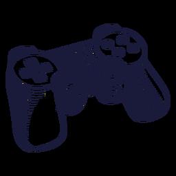Ilustração de jogo do controlador clássico
