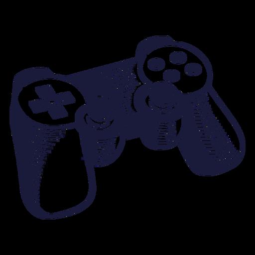 Classic controller gaming illustration