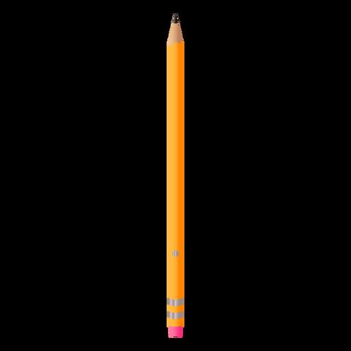 Ilustración realista de lápiz clásico Transparent PNG
