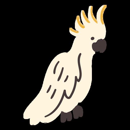 Cacatua pássaro voador tropical