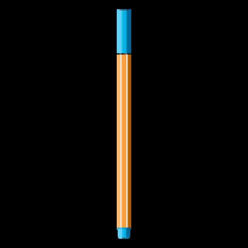 Color pen realistic design Transparent PNG