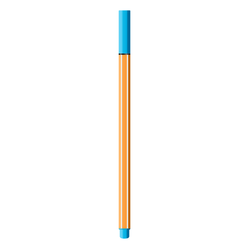 Color pen realistic design