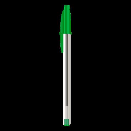 Colored realistic pen design