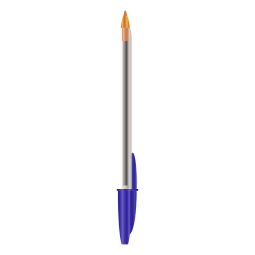 Colored without cap pen realistic Transparent PNG