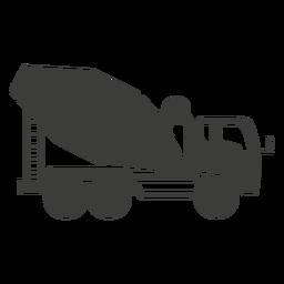 Ilustración de máquina de construcción de hormigonera