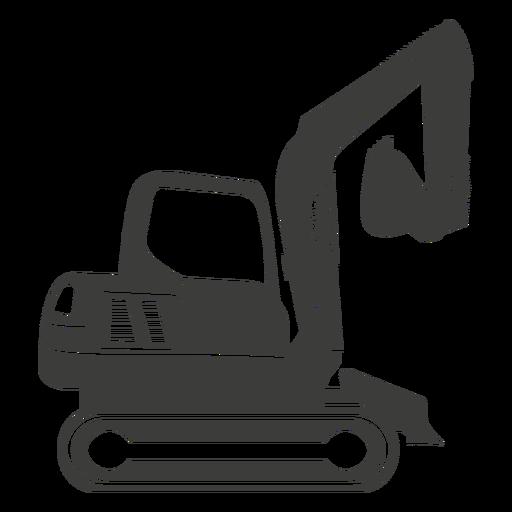 Excavadora de maquinaria de construcción