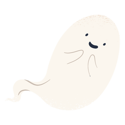 Cute halloween ghost character