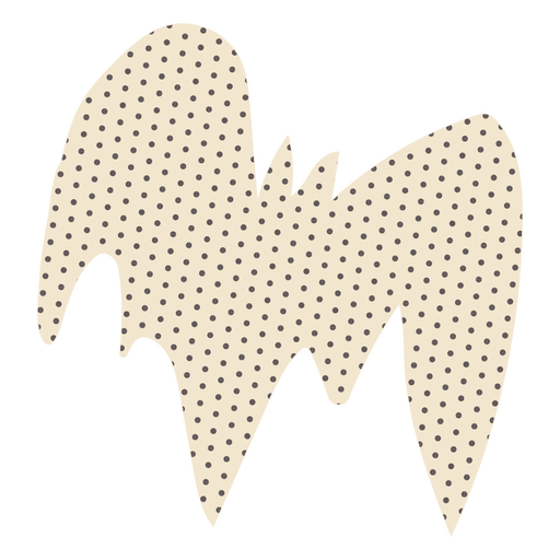 Dotted bat character design