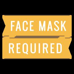 Presupuesto máscara requerida