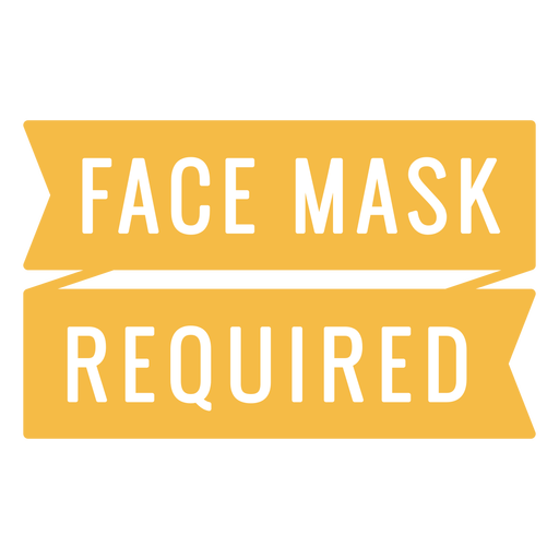 Face mask required quote
