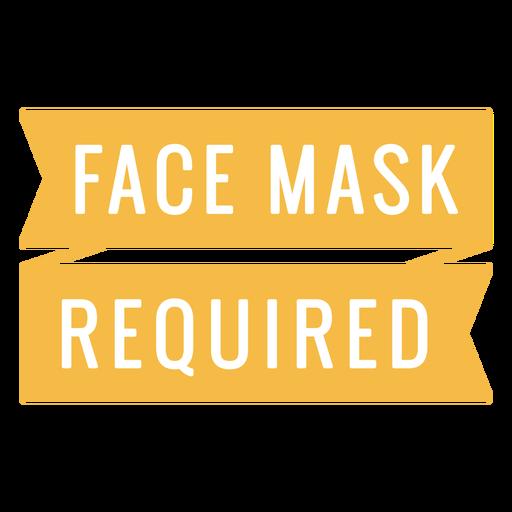 Presupuesto máscara requerida Transparent PNG