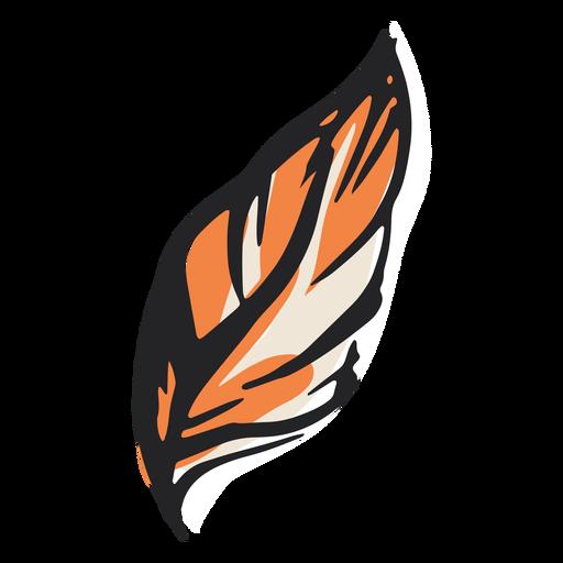 Diseño de ilustración de pluma