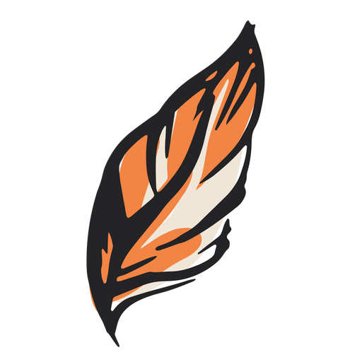 Feather illustration design