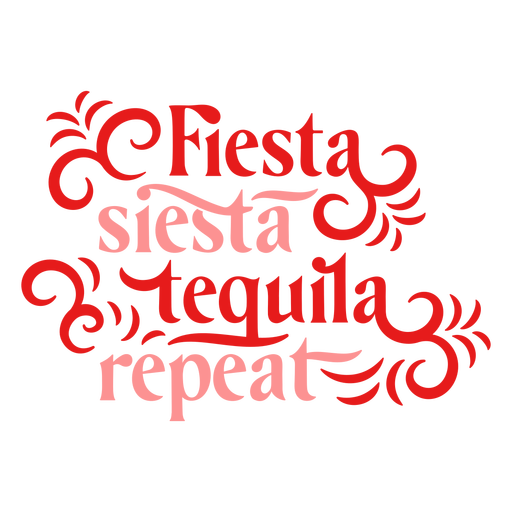 Fiesta siesta tequila repetir letras