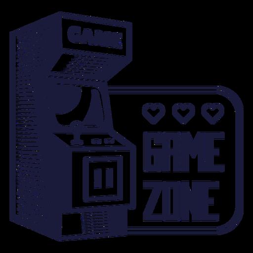 Game zone badge