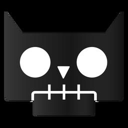 Coruja assustadora de halloween