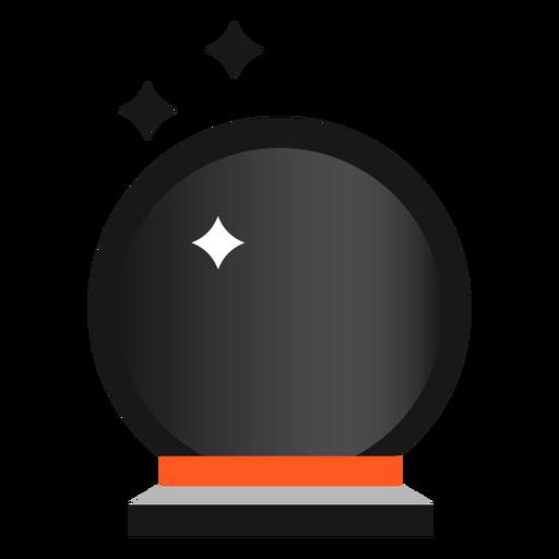 Icono de bola de cristal de Halloween
