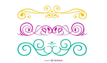 Cool curly vectors Free4all