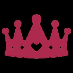 Apoyos de la corona del rey del corazón