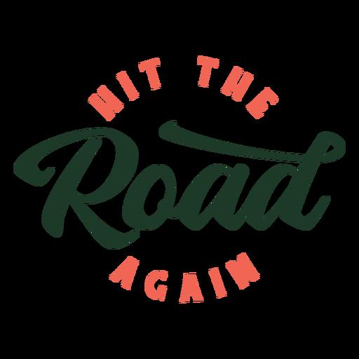 Letras de hit road again