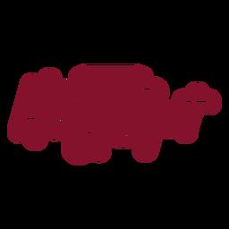 Holiday spirit celebration wine bag