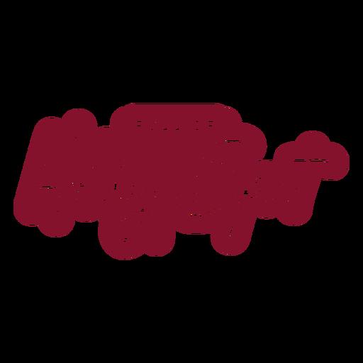 Bolsa de vino de celebración de espíritu navideño