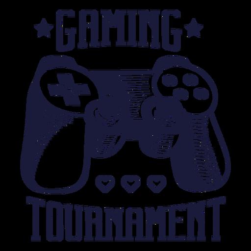 Joystick videogame badge