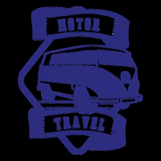 Kombi travel badge