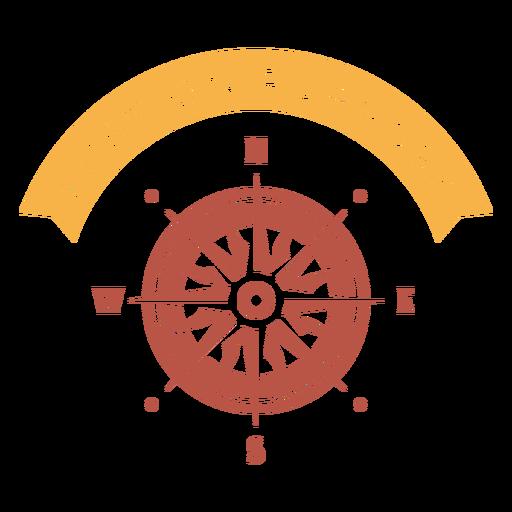 Lost on purpose compass design