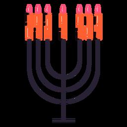 Menorah judeu elemnt