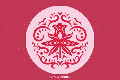 Russian ornament free vector