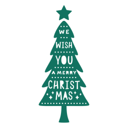 Frohe Weihnachten Grußbaum