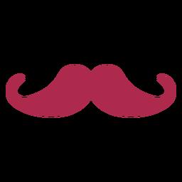 Icono simple bigote