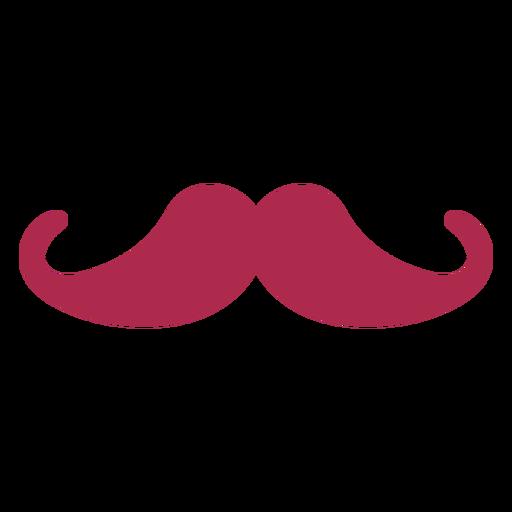 Ícone de bigode simples
