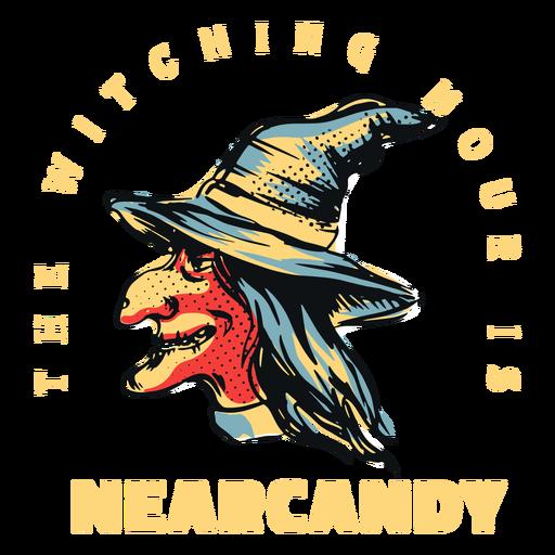 Distintivo de bruxa Nearcandy