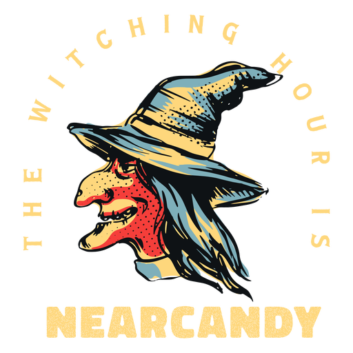 Nearcandy witch badge