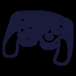 Ilustração de jogos do controlador Nintendo