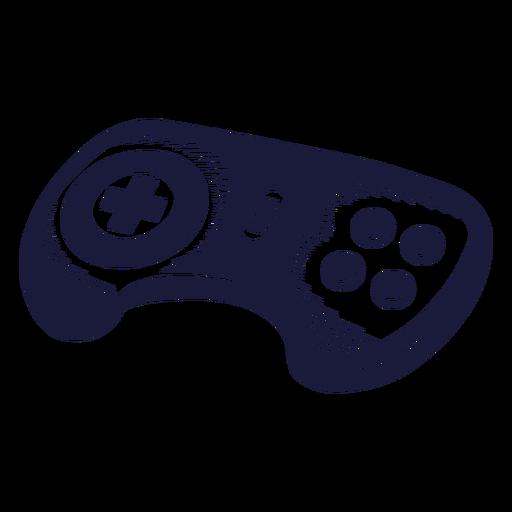 Ilustración de controlador de consola de Oldschool Transparent PNG